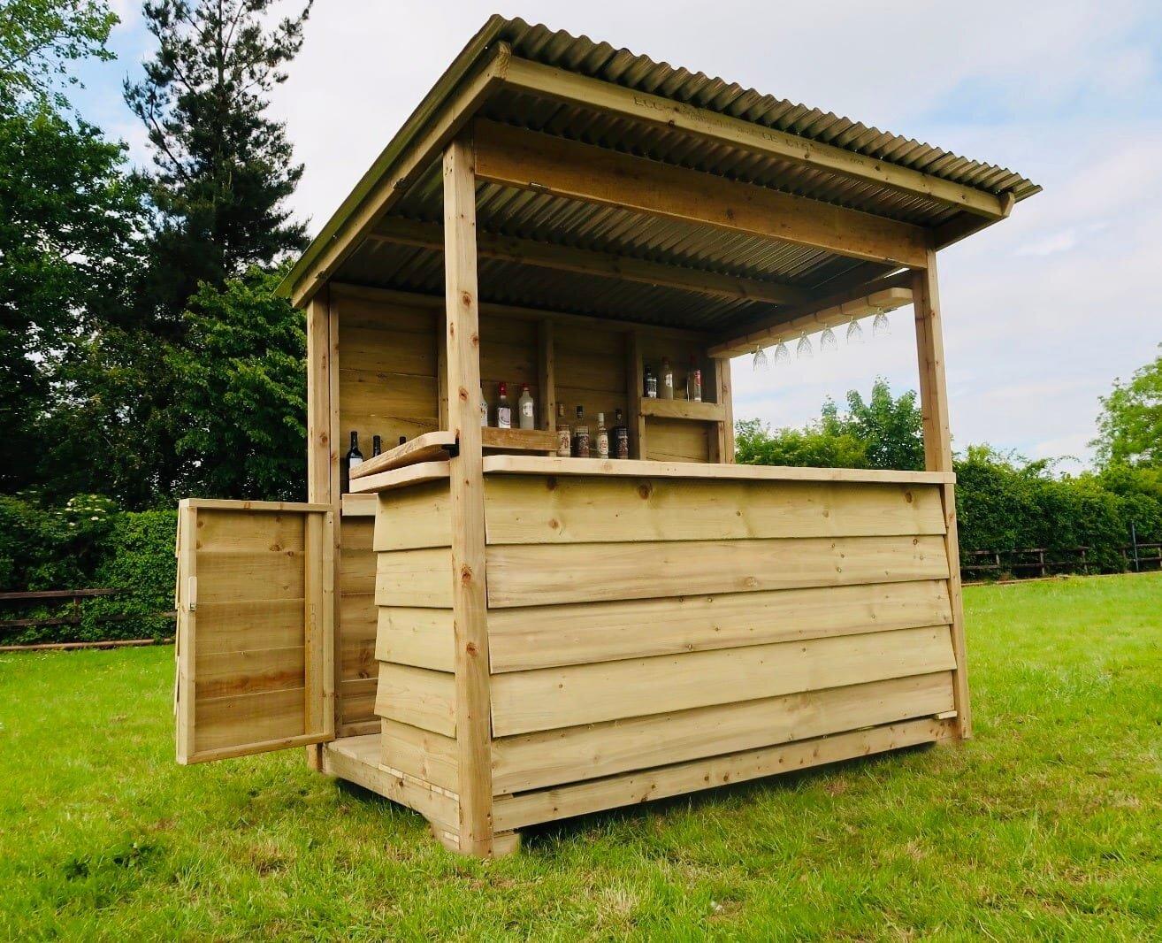 Wooden Garden Bar