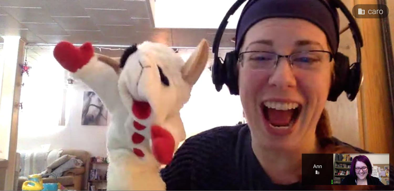 Ann: Lead Dev Instructor, long-distance pancake sender, and part-time Lambchop.