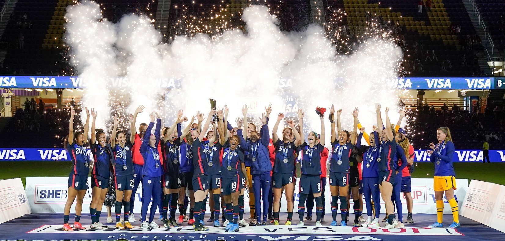 USWNT wins SheBelieves Cup with 6-0 rout of Argentina