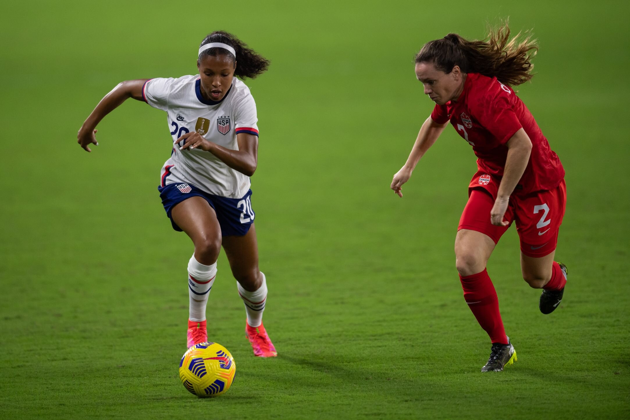 The USWNT's Olympic Roster: where it stands today