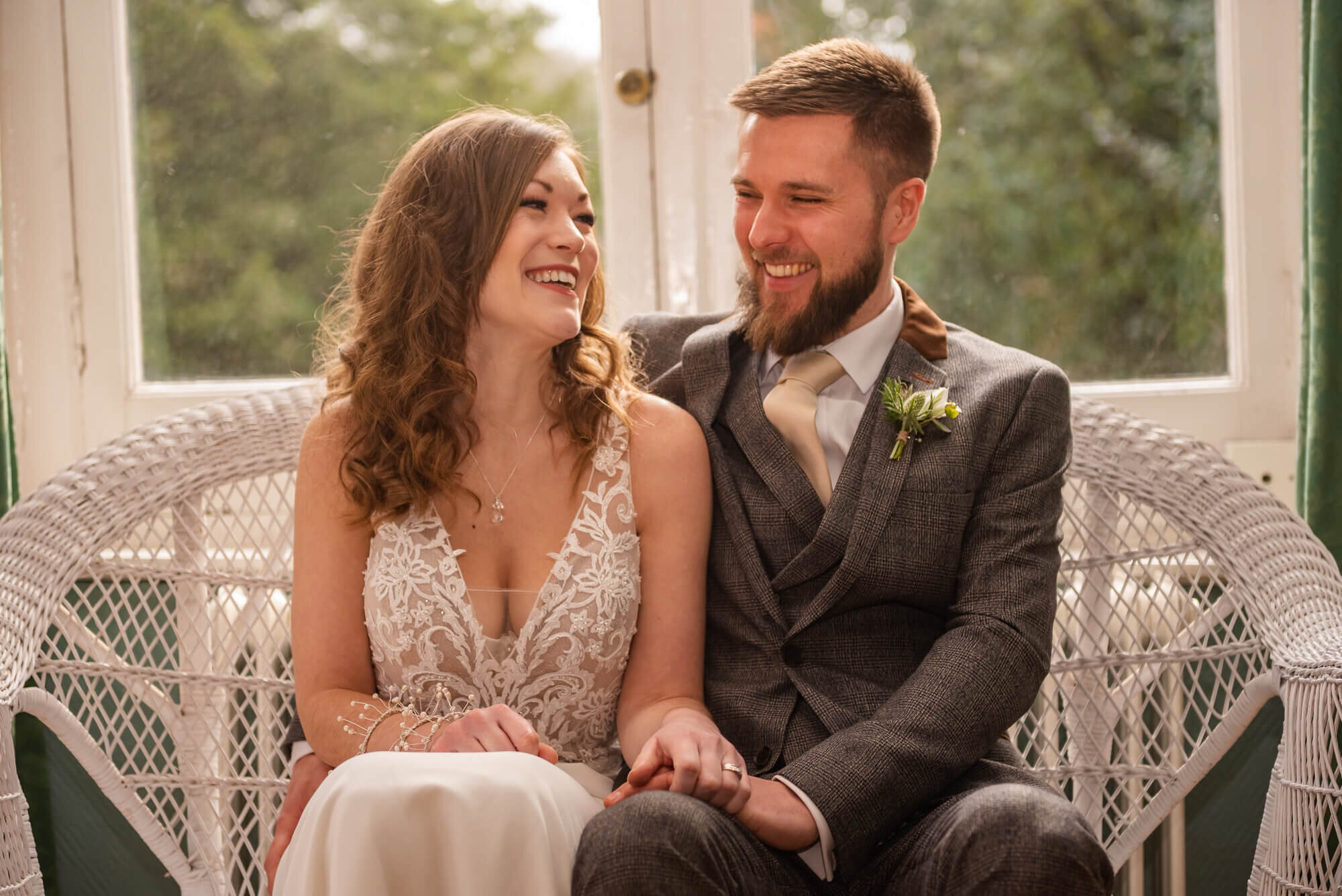 Bride and Groom Wedding Photograph relaxed photography in Winchester Guildhall Hampshire
