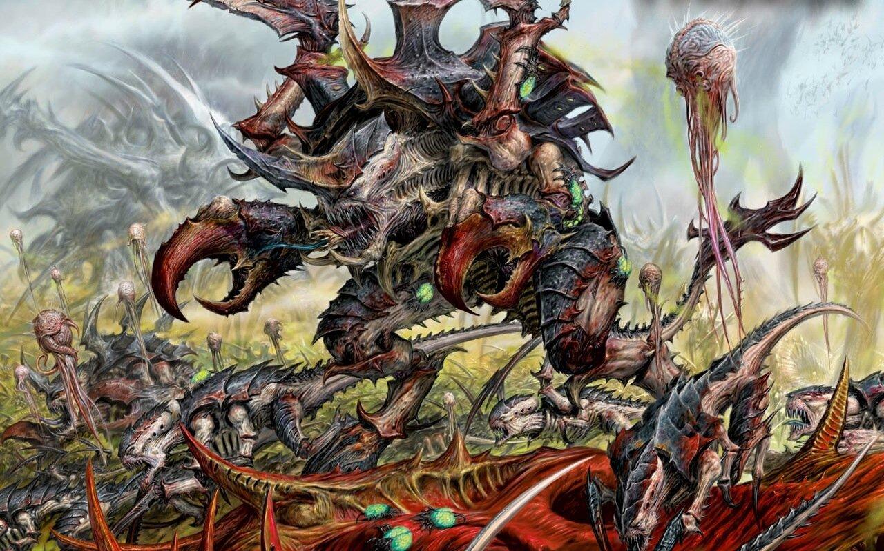 Faction Focus : Tyranids — The Art of War