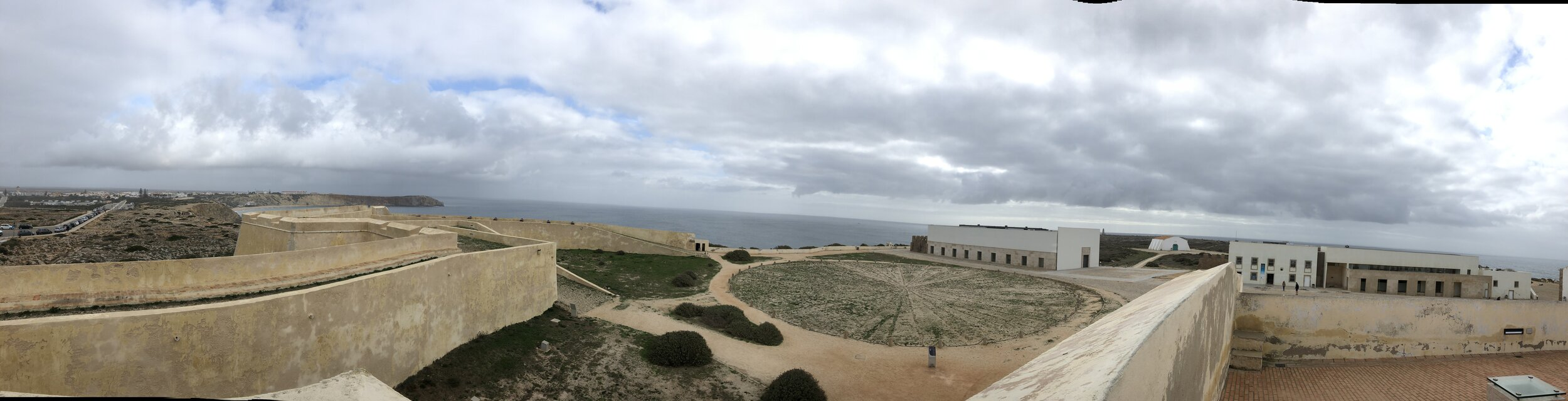 Panoramica del  fuerte de Sagre