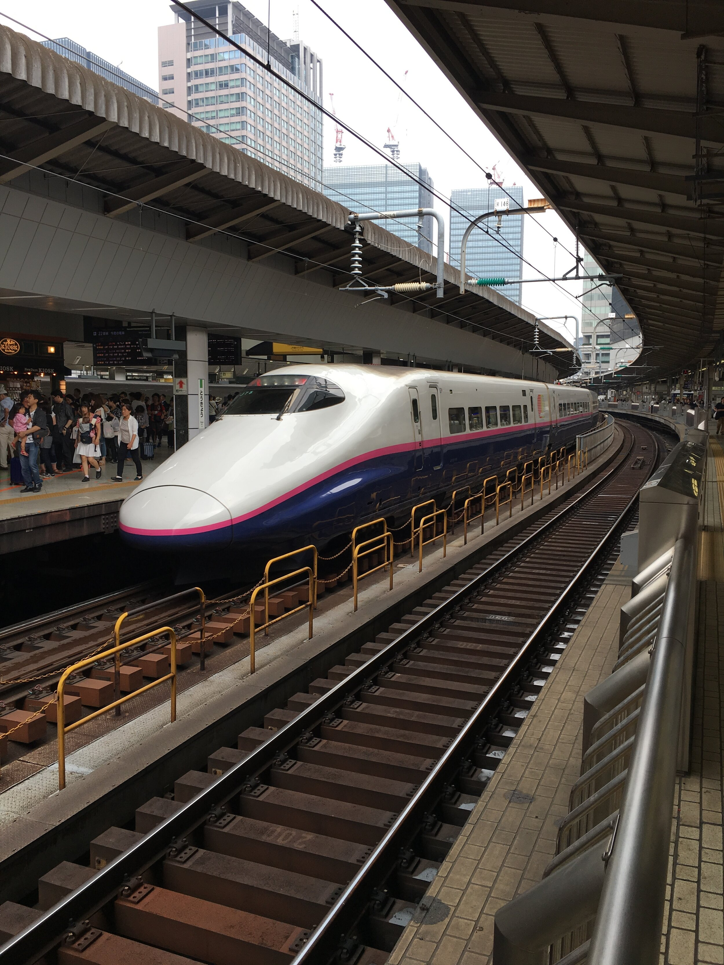Tren de alta velocidad en Japón