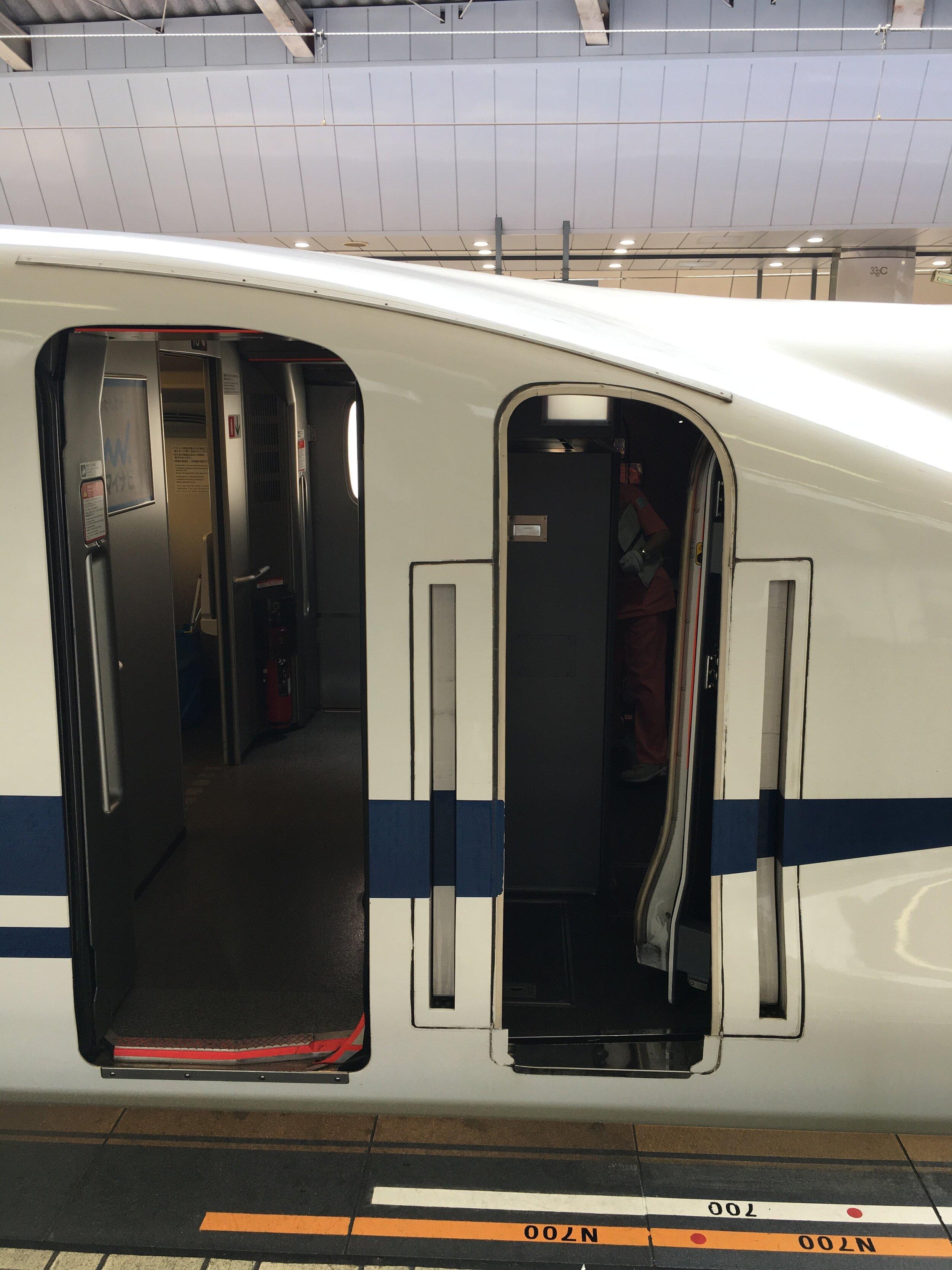 Trenes de alta velocidad en Japón