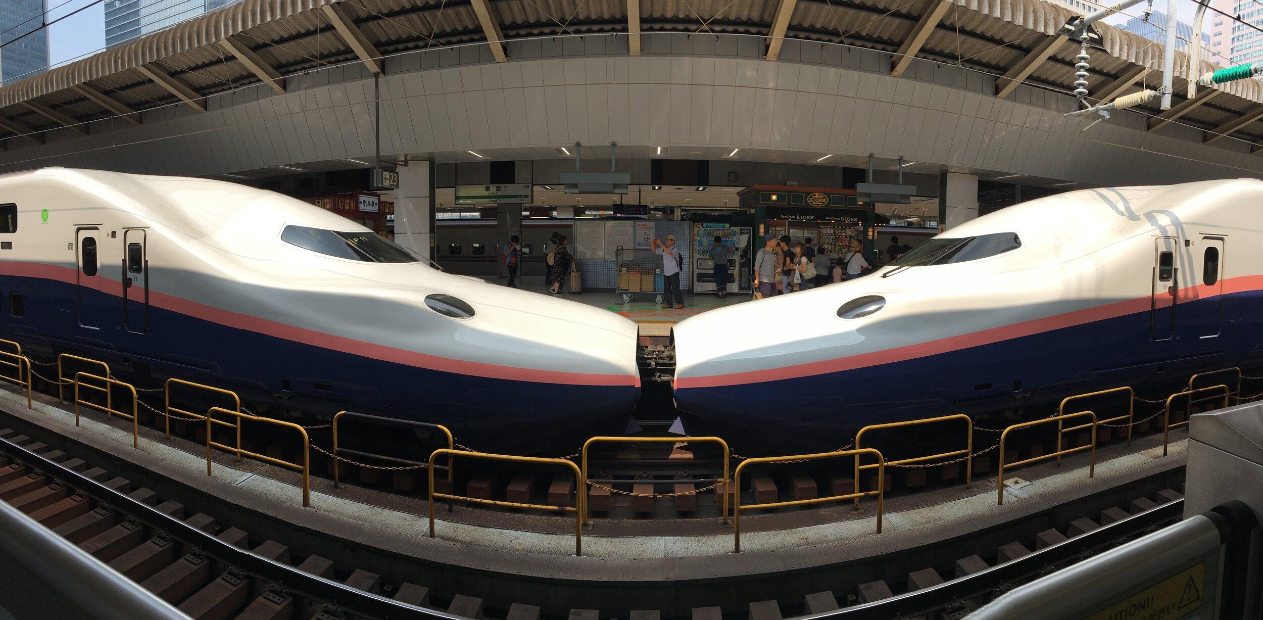 Trenes en Japon