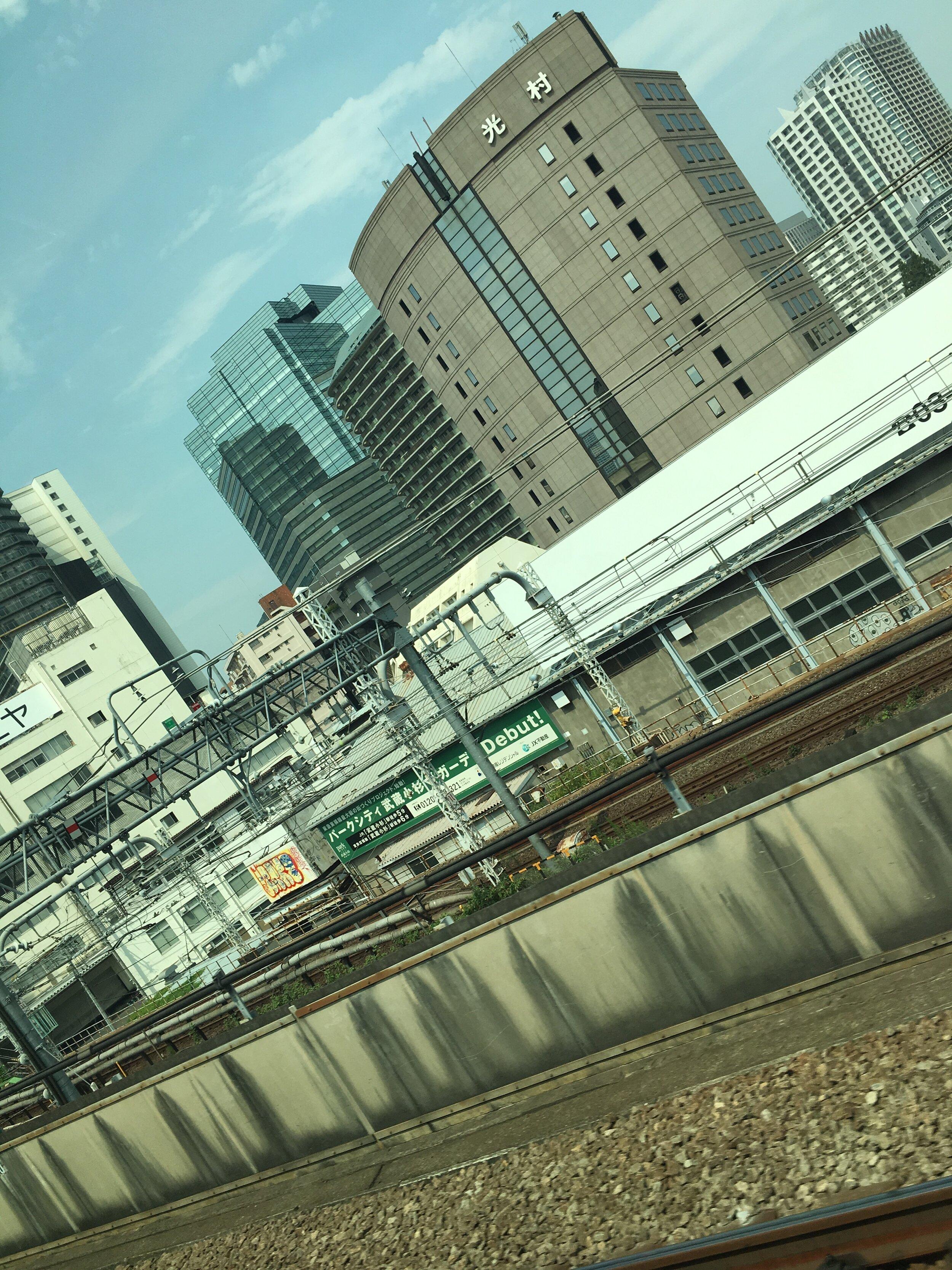 Saliendo de Tokio