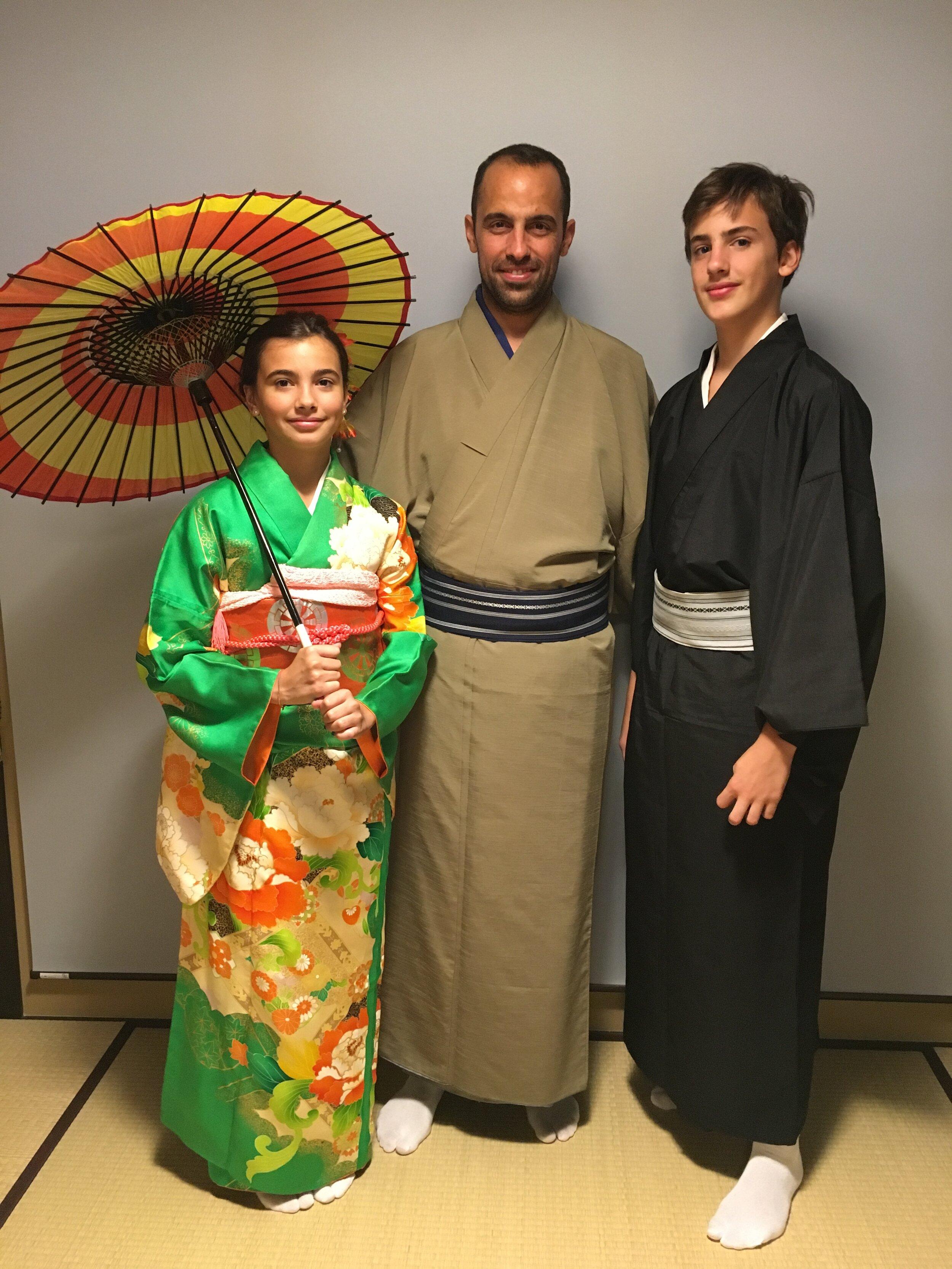 Ceremonia del te en Kyoto