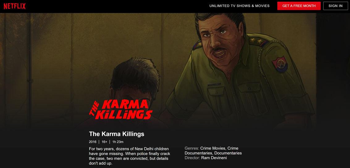 the karma killings watch online free