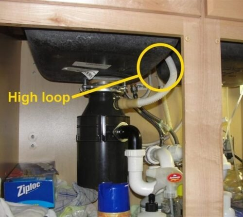 The Most Common Dishwasher Installation Defect Structure Tech Home Inspections