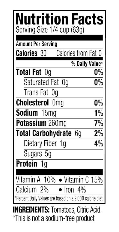 Nutritionals DF Tomato Puree.png