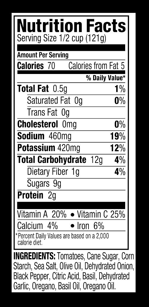 Nutritionals DF Italian Sauce.png
