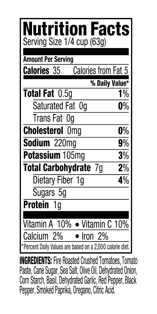 Nutritionals DF Fire Roasted Pizza Sauce.png