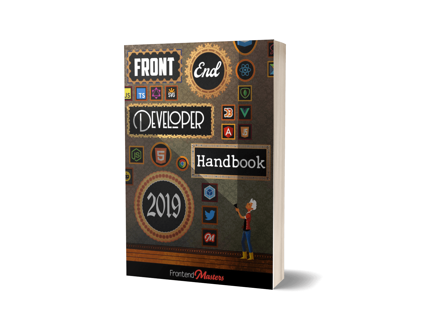 Best Javascript Developer Career Roadmap: Front-End Developer Handbook - Front-end Developer Handbook 2019 is a complete getting-started guide for anyone who wants to become a self-taught front-end web developer in present year. It is a free programming book, which is accessible online or downloadable in pdf or epub formats. It talks about everything from all the various tools developers might encounter in 2019 to practical career advice like salary expectations.