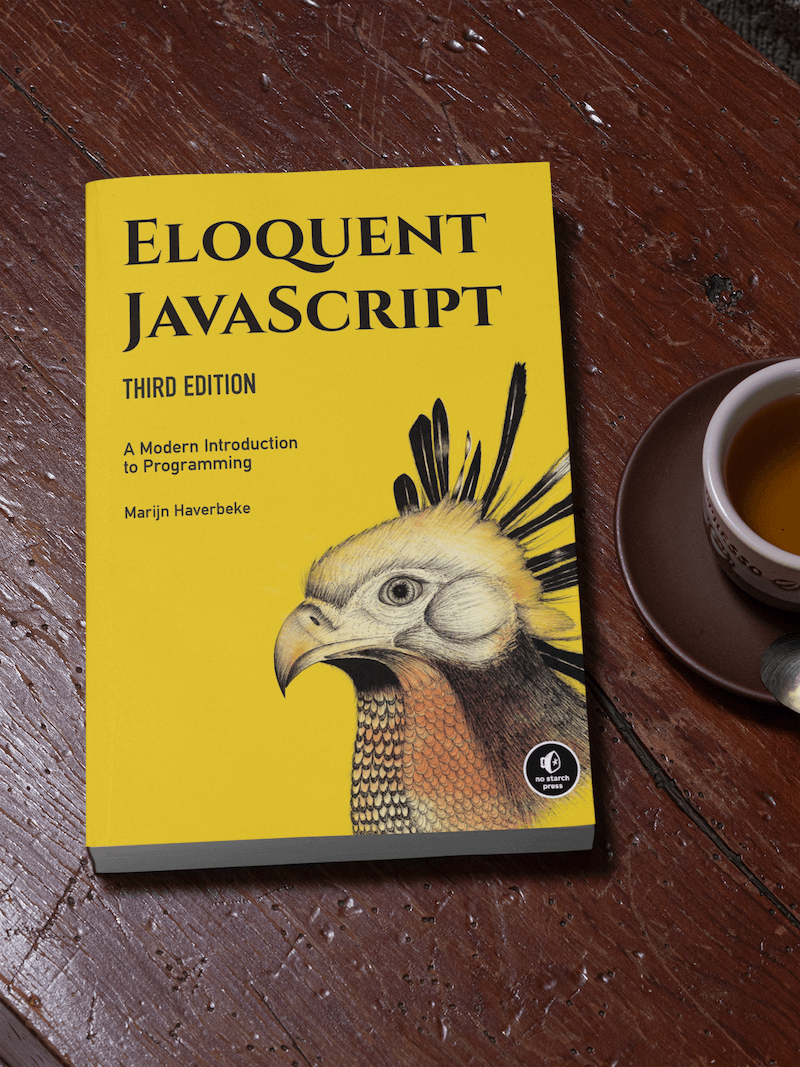 JavaScript has changed a lot over the past few years, which is why the main criteria for the best JavaScript books for beginners are recently released.  Eloquent JavaScript  was released in December 2018 and teaches modern JavaScript principles.