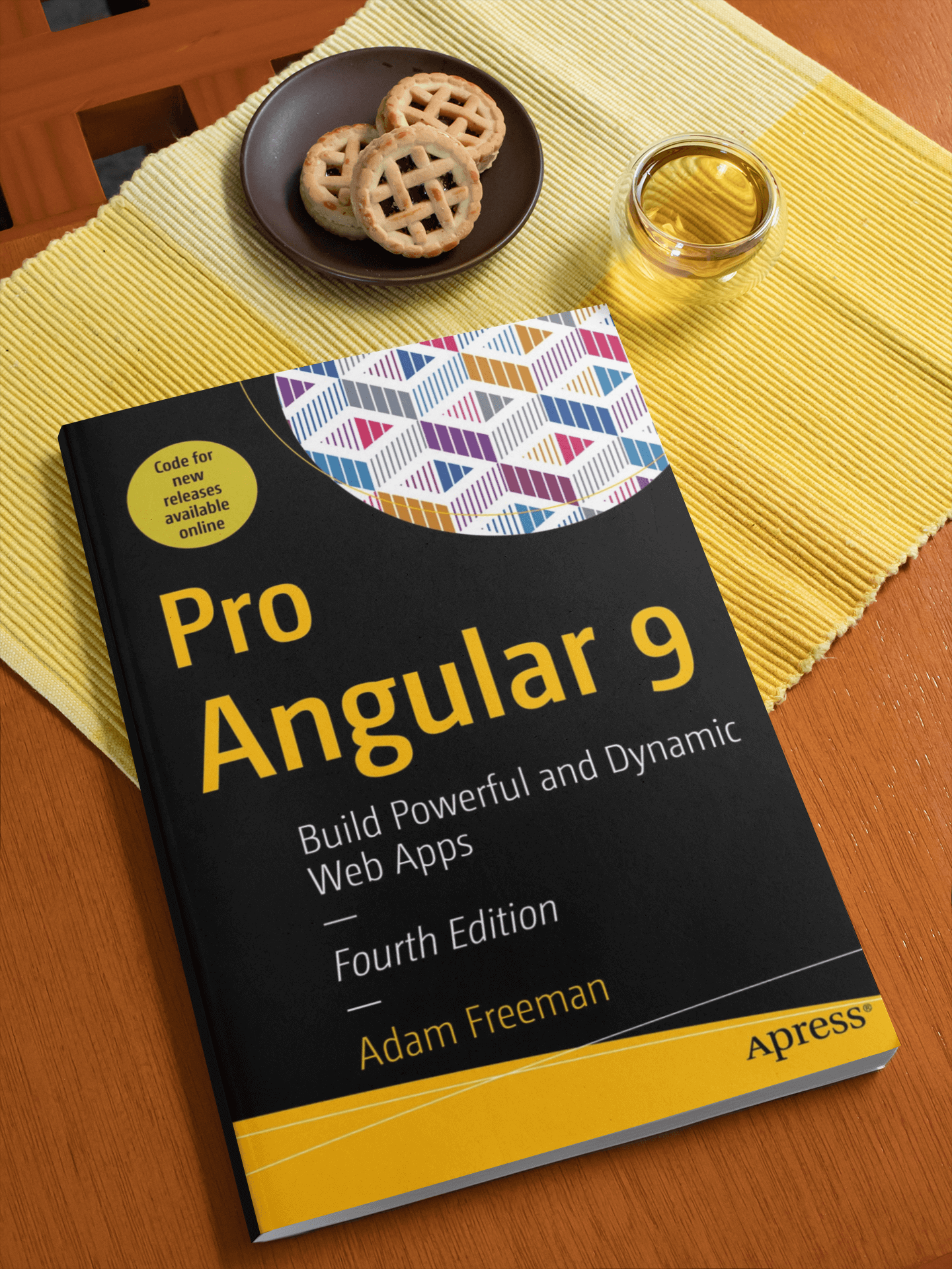 Pro Angular 9  is a June 2020 release that teaches cutting-edge AngularJS concepts in Angular 9 and Angular 10.