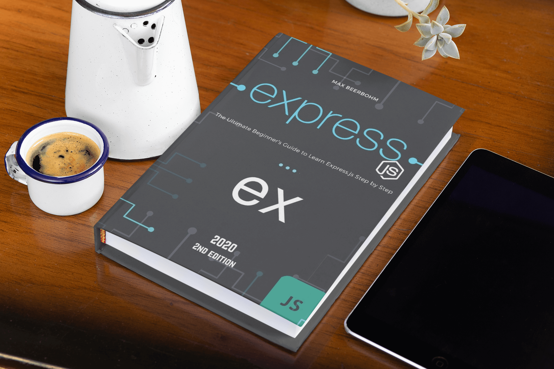 hardcover-mockup-of-Express-js-the-ultimate-beginners-guide-to-learn-expressjs-step-by-step