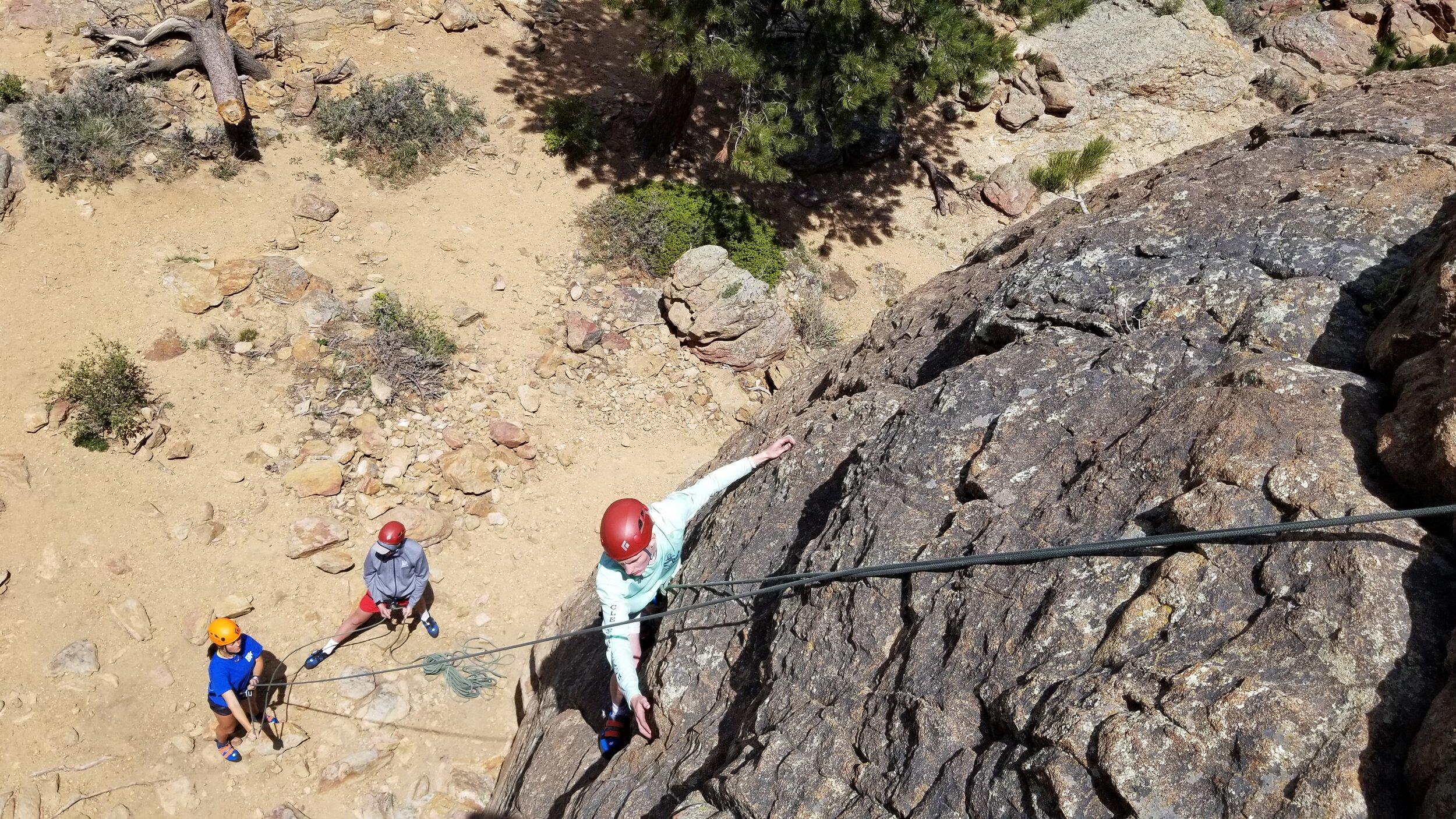 Estes Park Rock Climbing