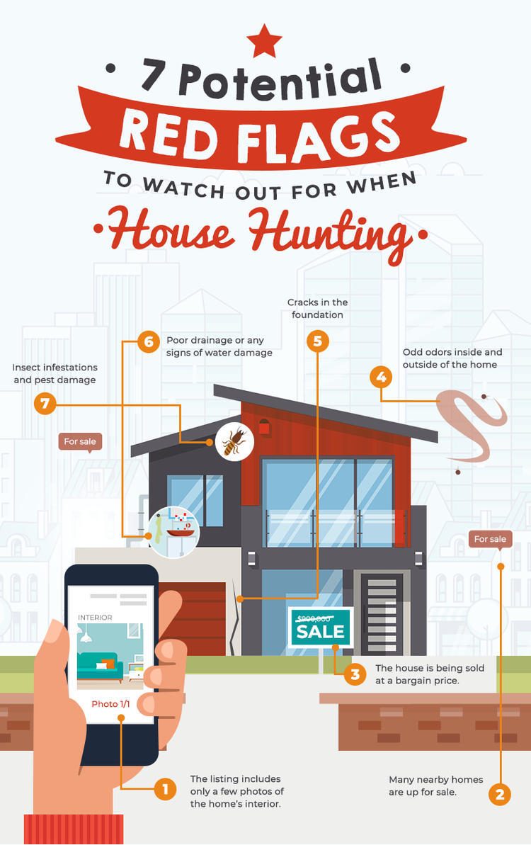 7 Potential Red Flags To Watch Out For When House Hunting