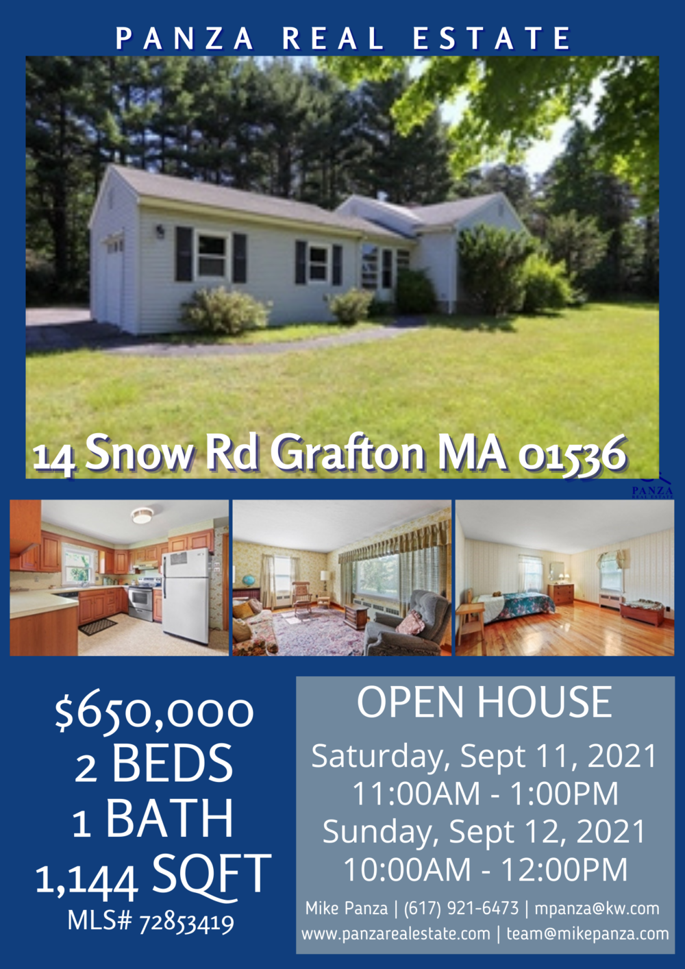 Open House 2021 - 14 Snow Rd Grafton MA 01536.png