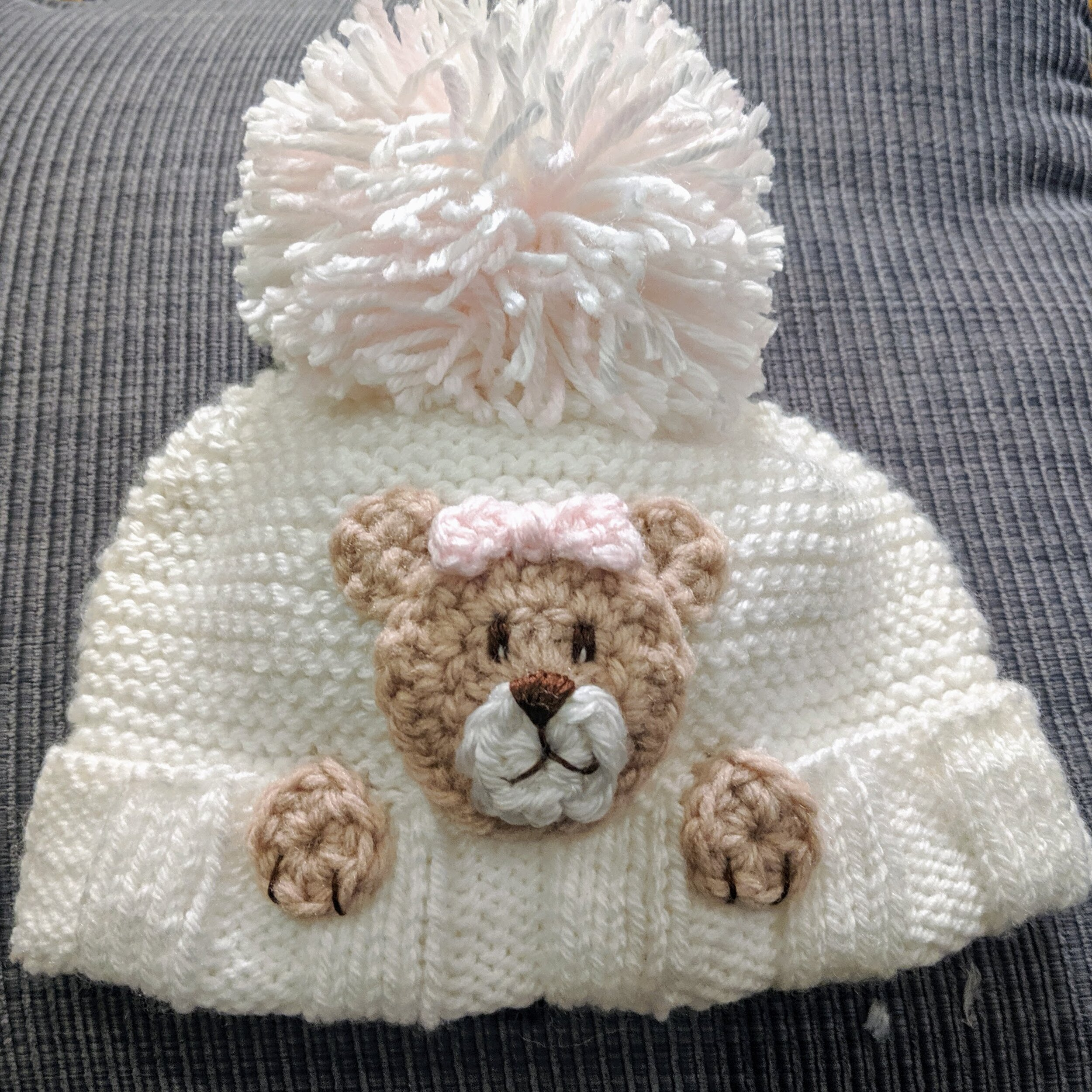 Crochet Teddy Bear Blanket - Repeat Crafter Me | 1000x1000