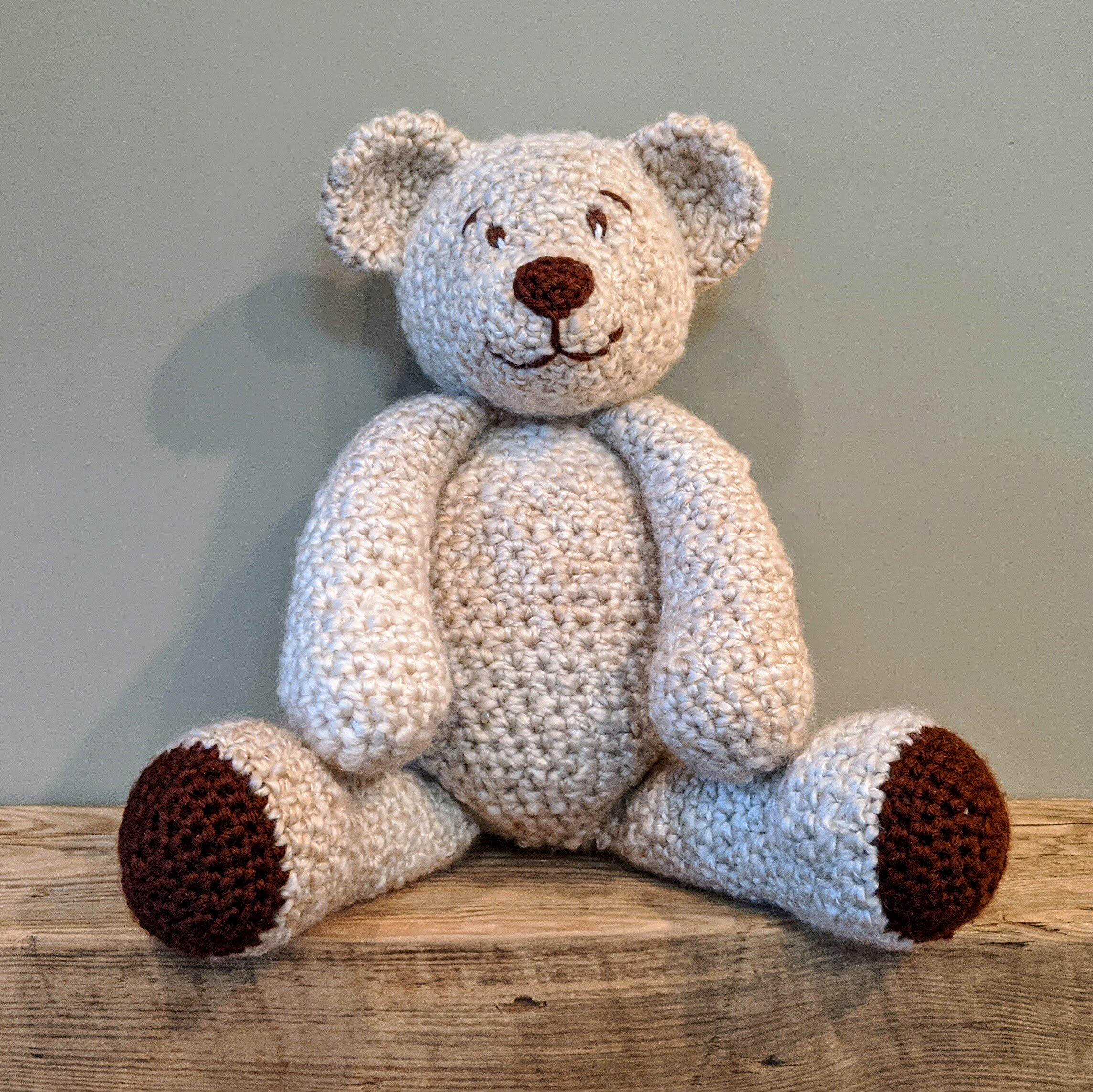 How to Crochet a Teddy Bear (with Pictures) - wikiHow   999x1000