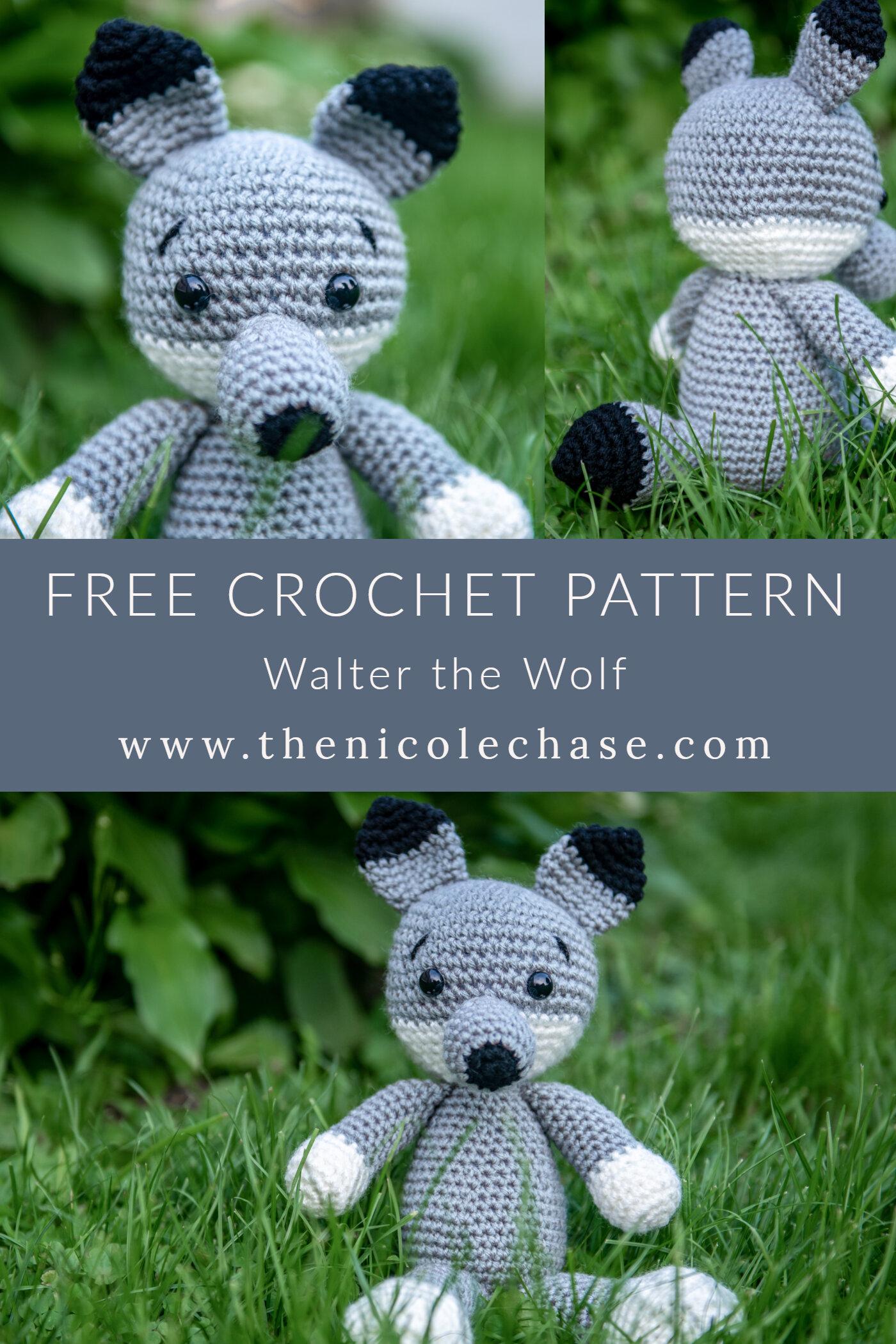 The Three Little Pigs and Big Bad Wolf Amigurumi Free Crochet ... | 1500x1000