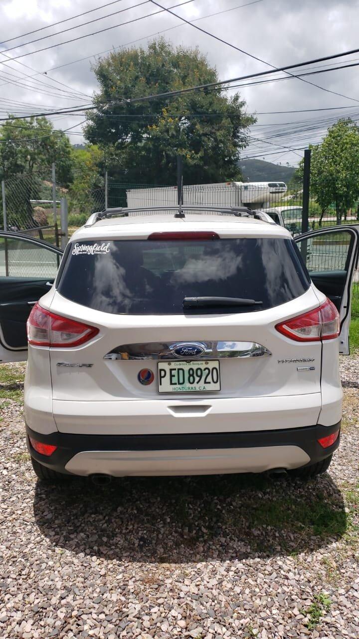 Ford Escape 2015 Autos Usados Honduras