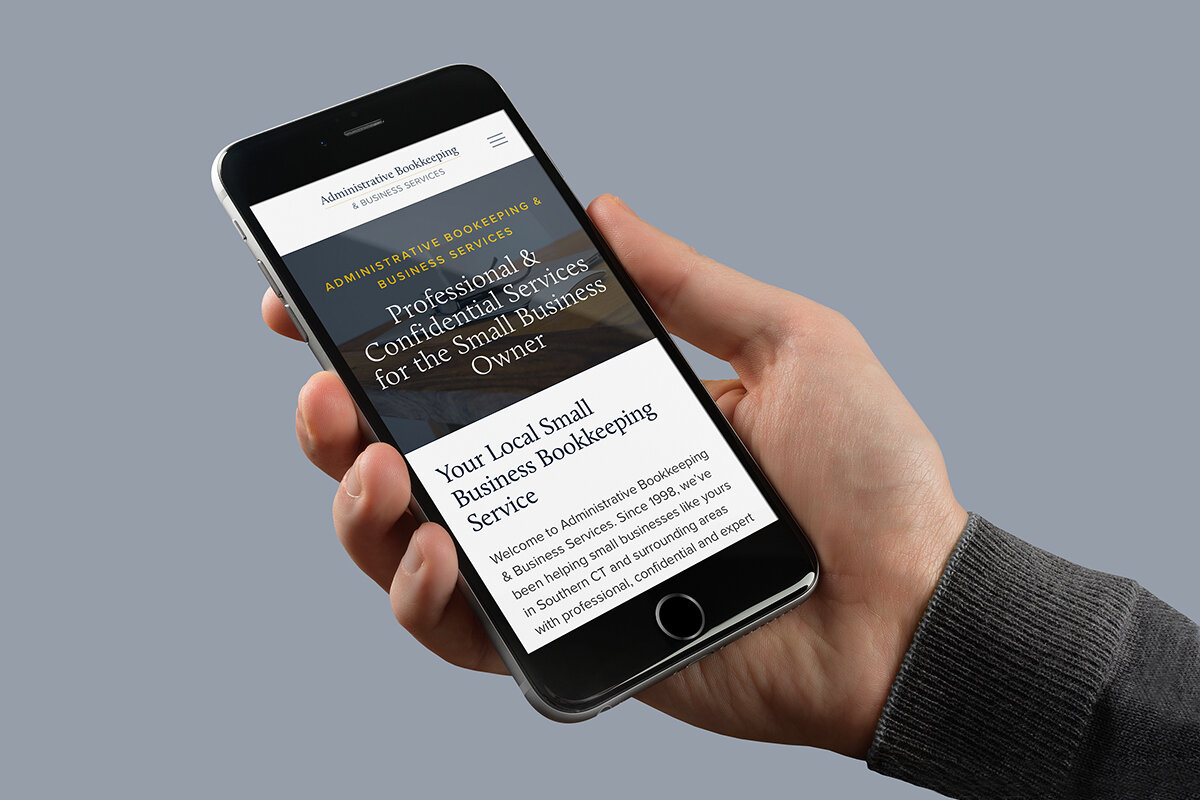 Mobile-First Website Design Helps a Fairfield CT Small Business Reach Their Target Audience