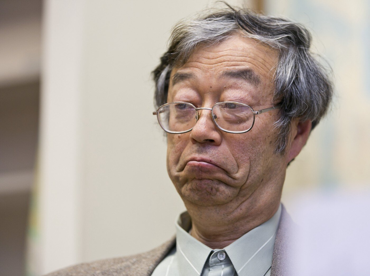 Even Jap Satoshi was more shocked at Faketoshi's claims than the reporter's claim it was him..