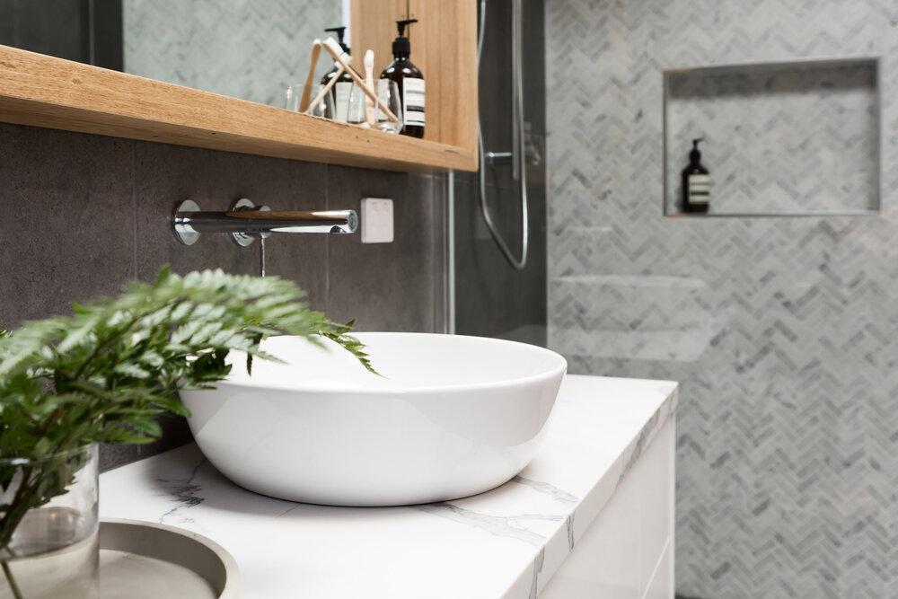 Bathroom Vanity Countertops Which, Bathroom Granite Vanity Tops