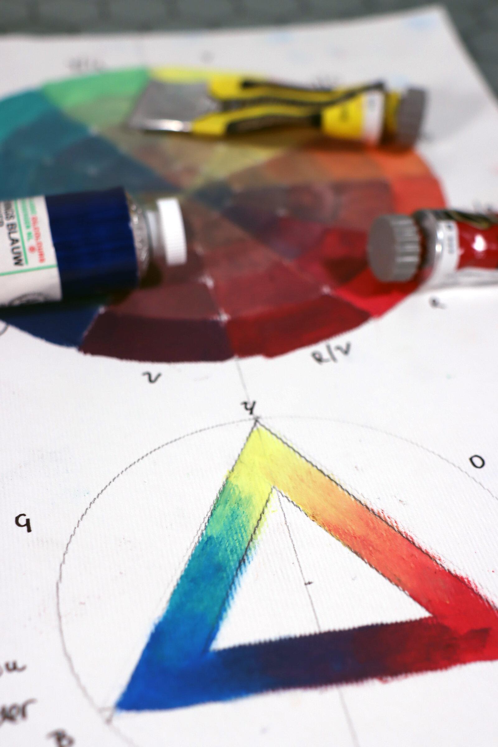 How To Make Your Own Colour Wheel Kirsty Lertxundi Fine Art