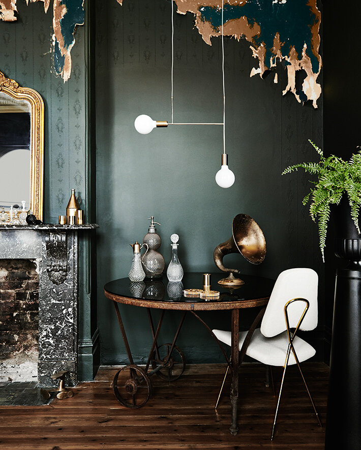 Dark Green Design Dreamy Rooms Spaces Firefly Finch