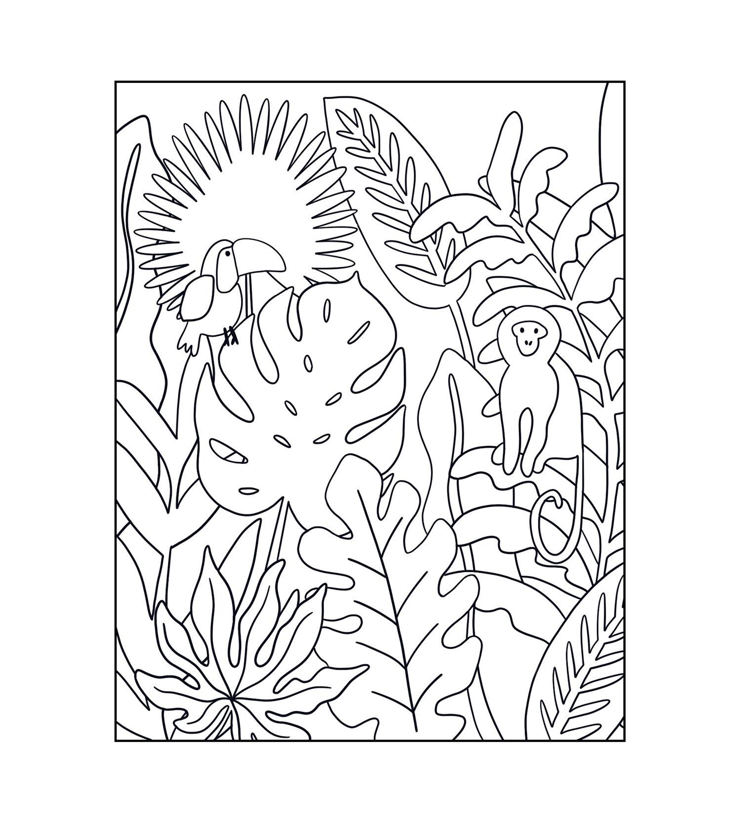 FREE Coloring Pages — Meg Biram