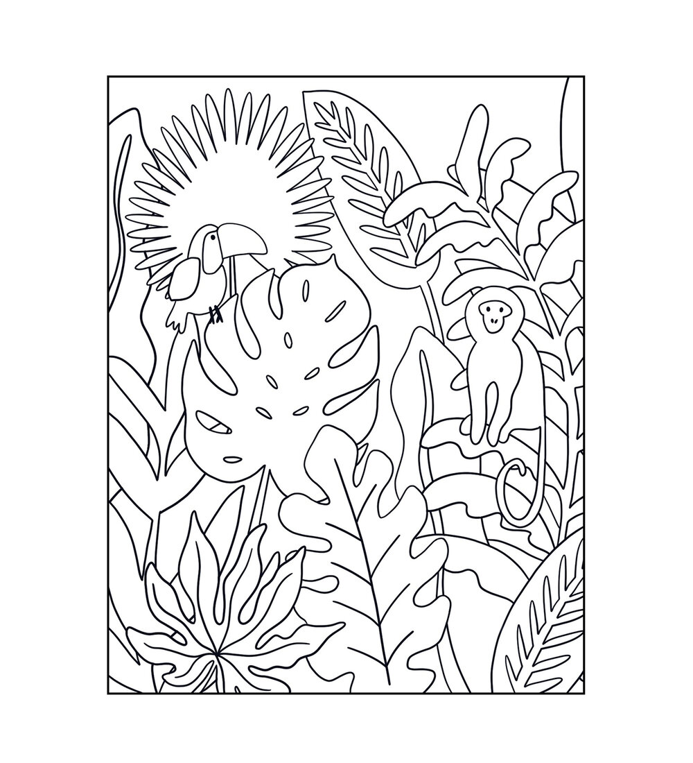 Free Coloring Pages Meg Biram