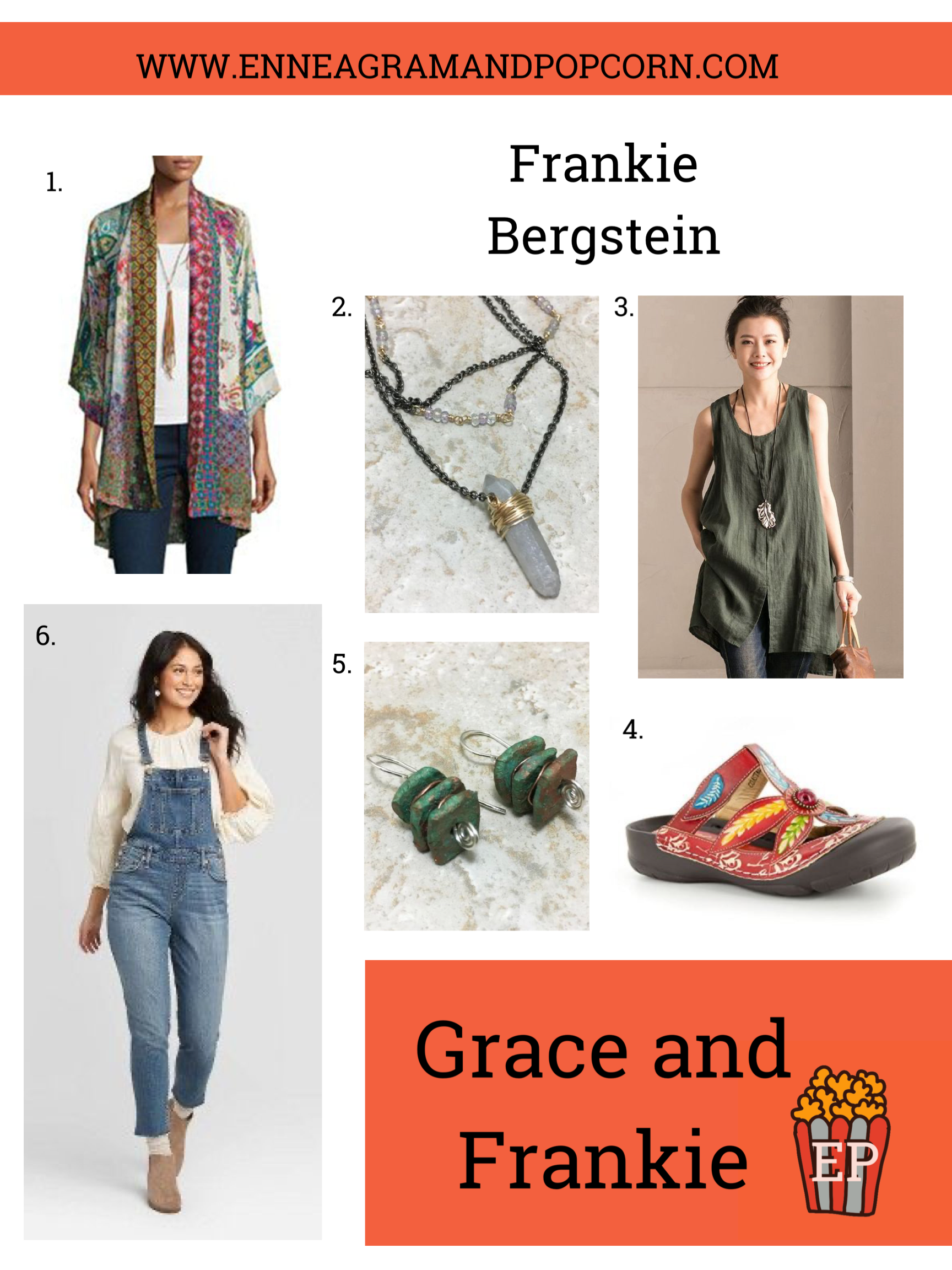 Grace And Frankie Inspired Fashion Enneagram And Popcorn