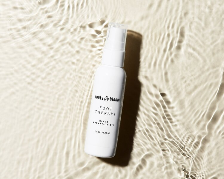 Heal Over-Exfoliated Feet with Hydrating Oil
