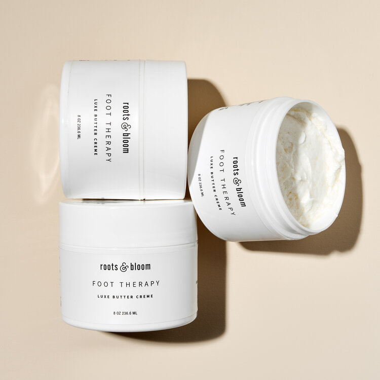 Roots & Bloom Luxe Butter Cream - Hydrating Cream for Smooth Feet.jpg