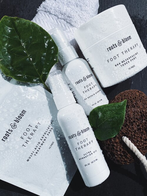 Roots & Bloom Foot Care Products for Smooth Feet