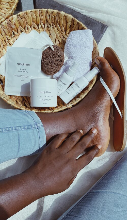 Roots & Bloom Foot Products to Heal Dry Feet