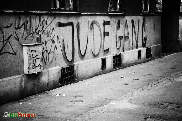 'Jude Gang' marking their territory in the city |    Photo Credit