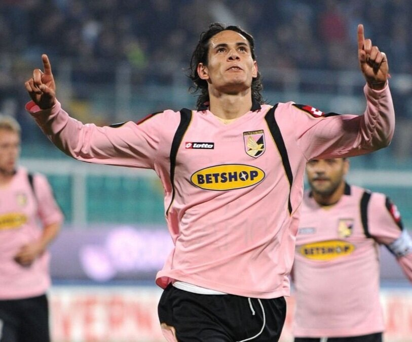 Cavani scored 32 goals in 101 games for Palermo before being sold to Napoli in 2011 | Photo Credit