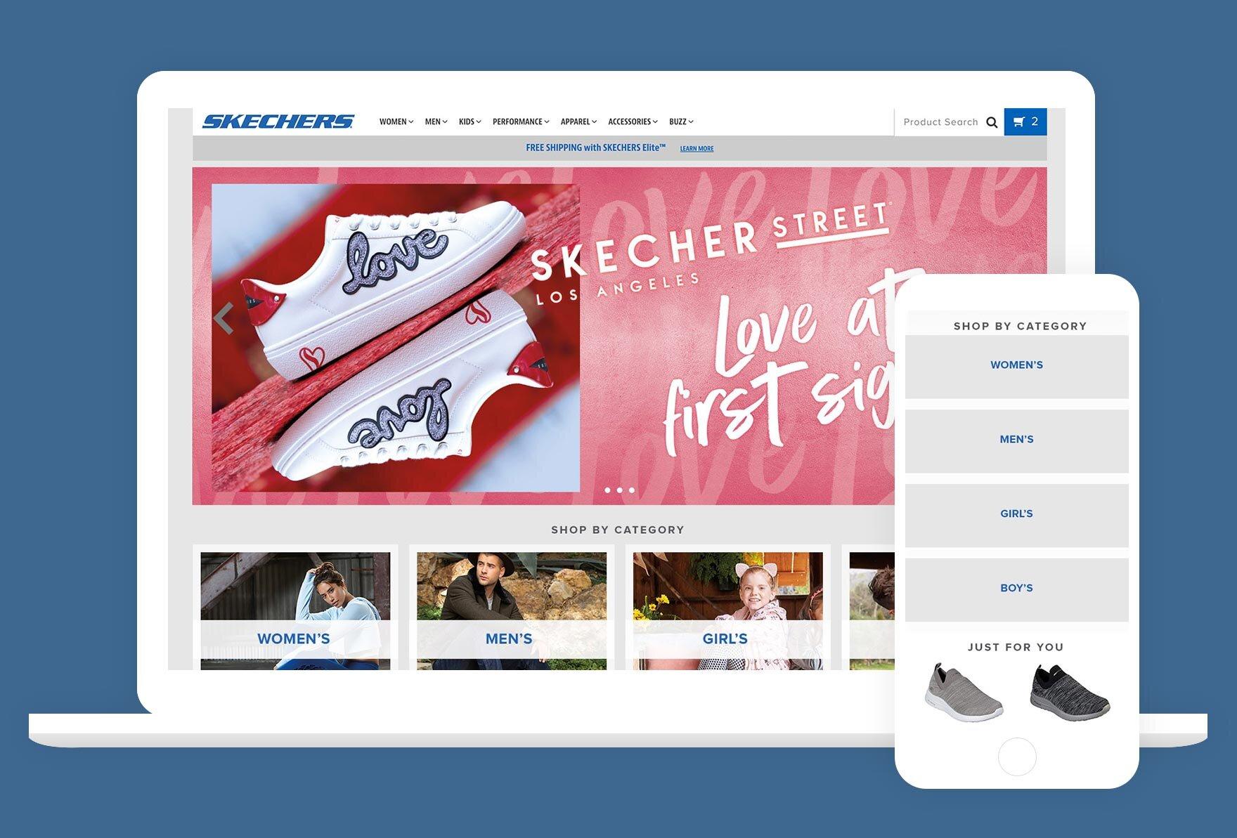 cultura Amigo dirección  Skechers.com — Sonya Lee, Creative Director & UX Designer