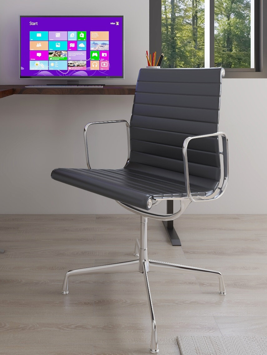 3.Invest in a comfortable chair - Think about when you were in the office, do you think you would be as productive and comfortable if you were working 8 hours a day in a chair that doesn't support you? Investing in a good chair will help you maintain good posture as well as keep you focused on work instead of say back pains.