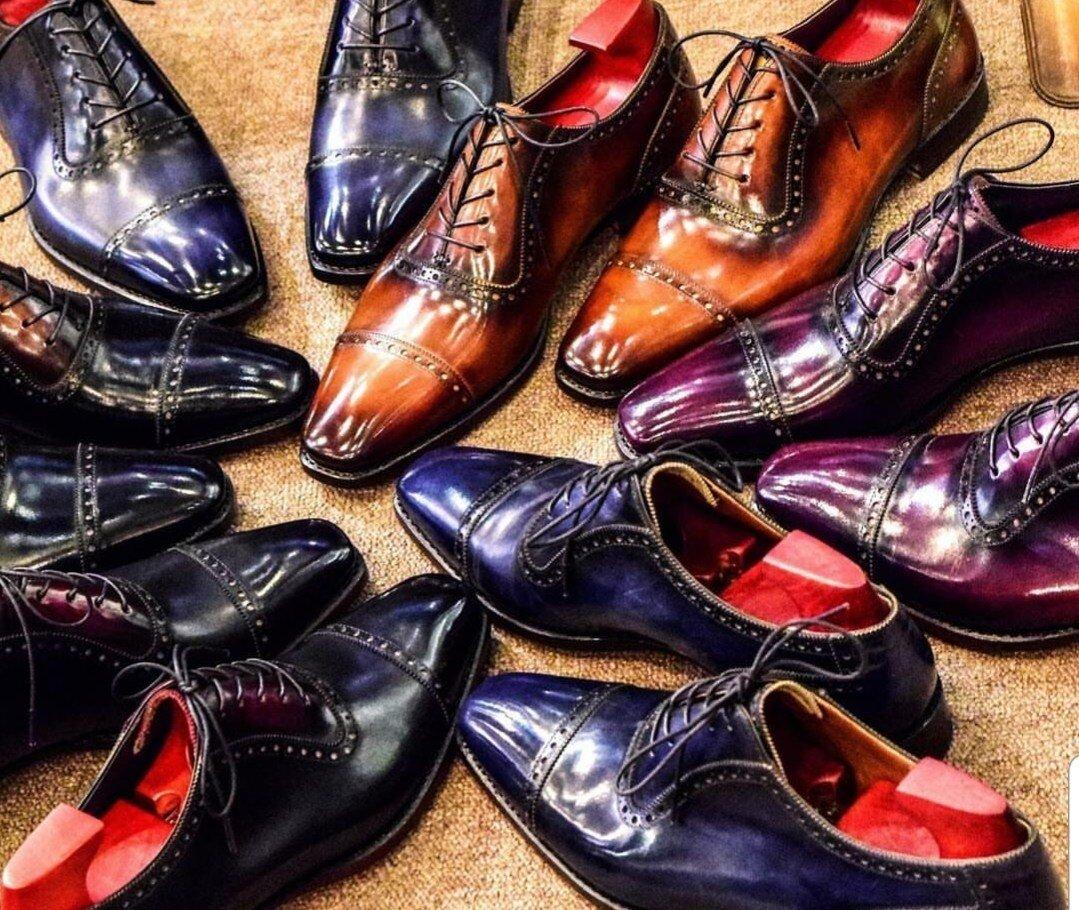 Italian Patina Dress Shoes Cost $867