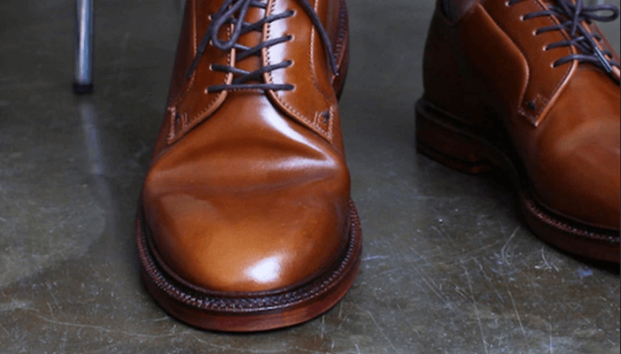 Lead To Unsightly Leather Shoe Creasing