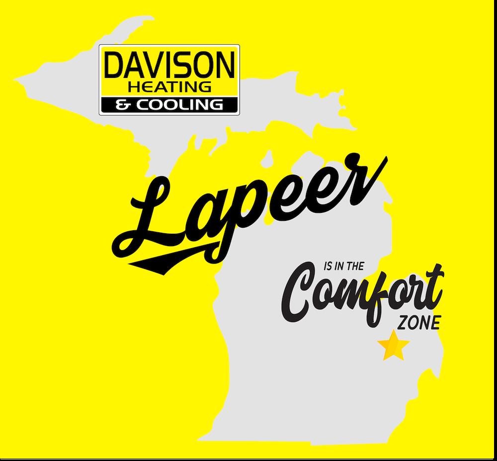Lapeer Michigan Davison Heating Cooling Furnace Ac Water