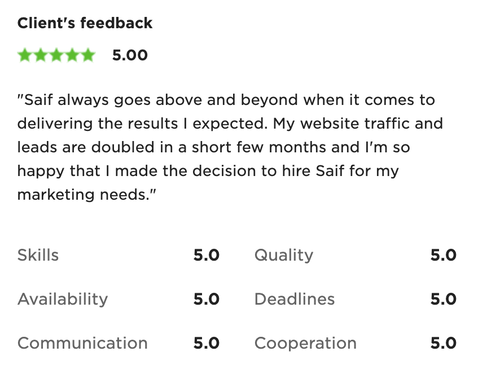 What makes this worth it in the end are testimonials like that. Helping a struggling local business to grow with a service like SEO is challenging for many reasons, but is definitely worth it.