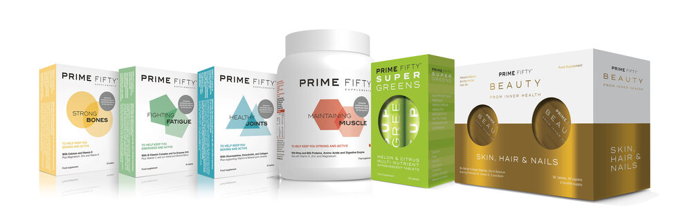 The Prime Fifty range