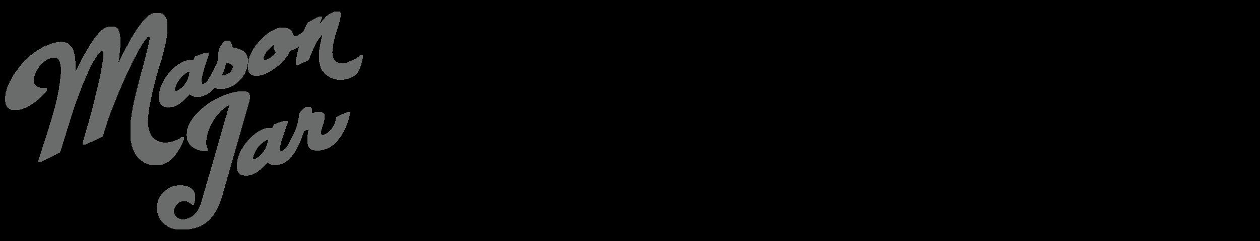 Mason Jar MARKETING LOGO